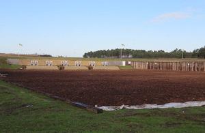 Firing range at Bisley