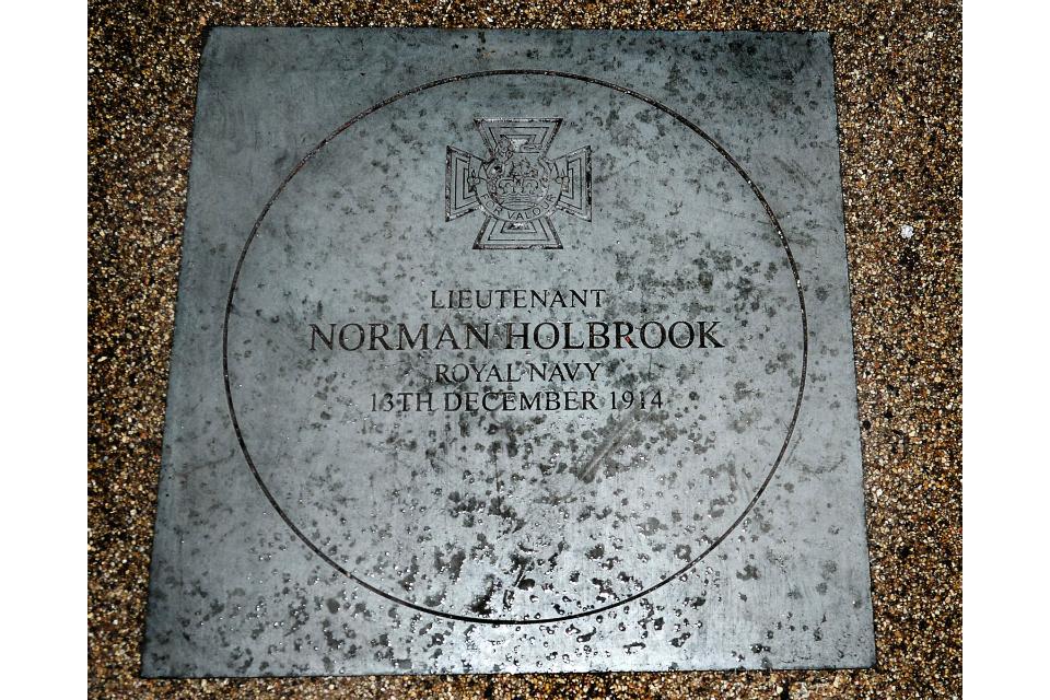 Memorial VC paving stone