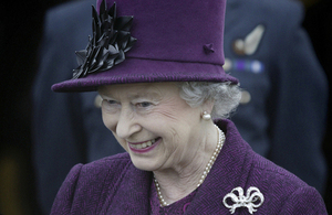 Her Majesty The Queen [Picture: Allan House, Crown copyright]