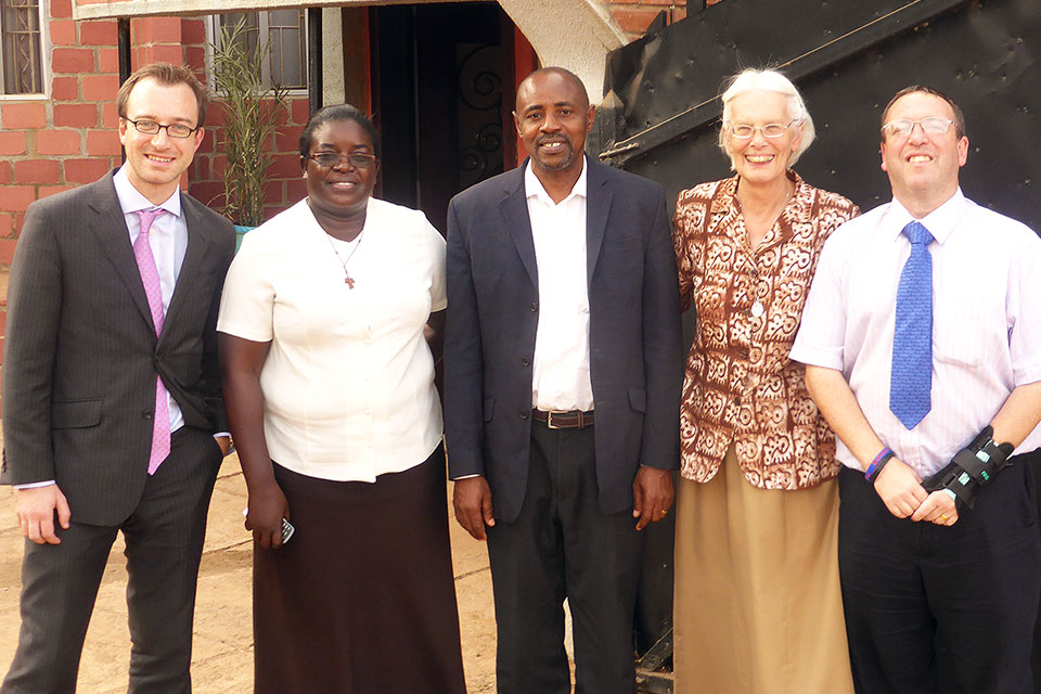 Sister Christiana Haliru, & Sister Mary Rogers with representatives of BHC Abuja