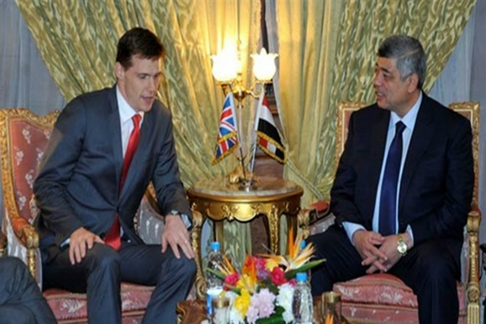 Ambassador Casson meets with Egypt's Minister of Interior