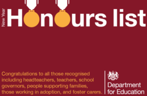 Congratulations to New Year Honours recipients