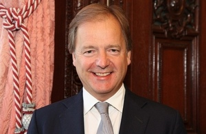 British Foreign Office Minister of State Hugo Swire