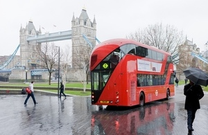 Representative work of Thomas Heatherwick, a new bus for London. Photo credit: Iwan Baan
