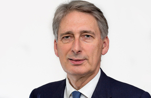 British Foreign Secretary, Rt Hon Philip Hammond MP