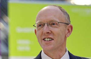 Image of Nick Winser CBE, new Chairman of the Energy Systems Catapult