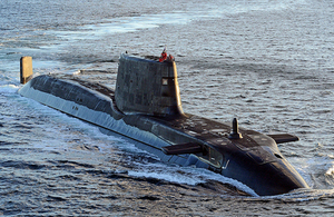 Astute class submarine HMS Ambush (library image) [Picture: Leading Airman (Photographer) Will Haigh, Crown copyright]