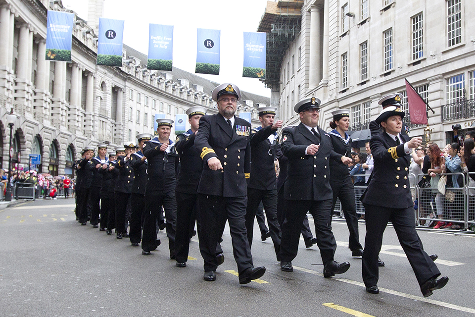 Royal Navy personnel