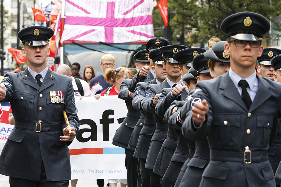 Royal Air Force personnel