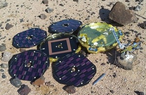 UK-led Beagle 2 lander found on Mars - News stories - GOV.UK