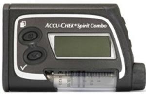 Accu-Chek Spirit Combo insulin infusion pump