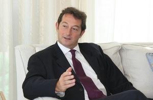 Nicholas Hopton, British Ambassador to Qatar