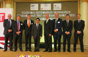 UK shares Public-Private Partnerships expertise with Thailand