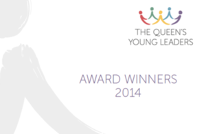 YOUNG LEADERSHIP AWARD FROM HER MAJESTY THE QUEEN
