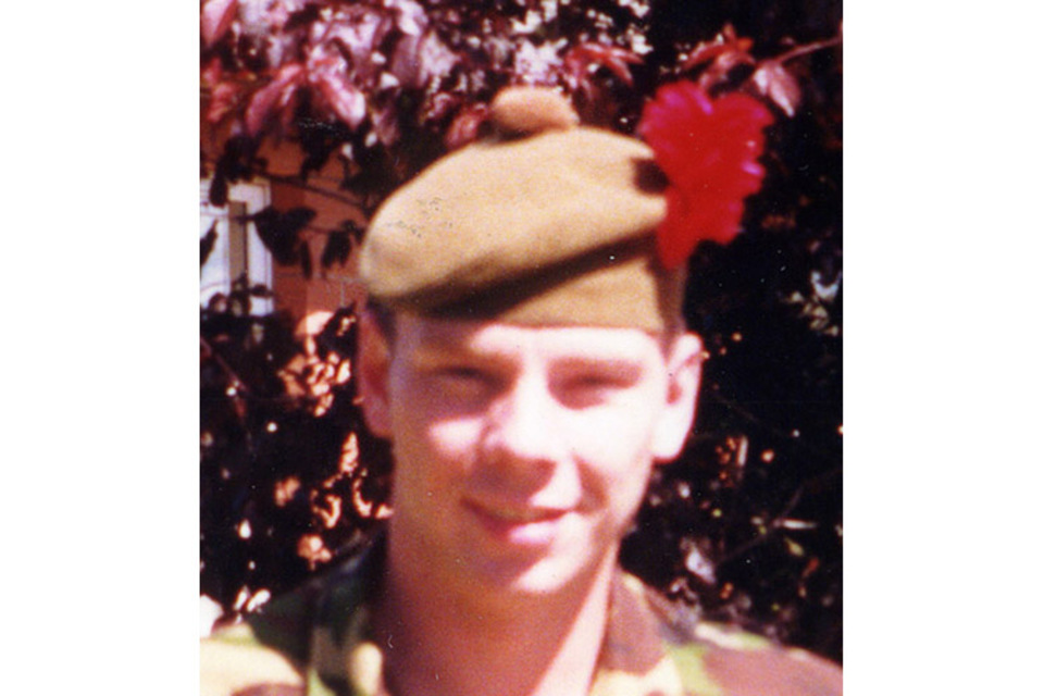 Lance Corporal Baz Stephen (All rights reserved.)