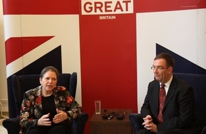 UK Minister for Transport visits Taiwan