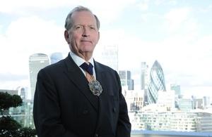 Lord Mayor of the City of London, Alderman Alan Yarrow