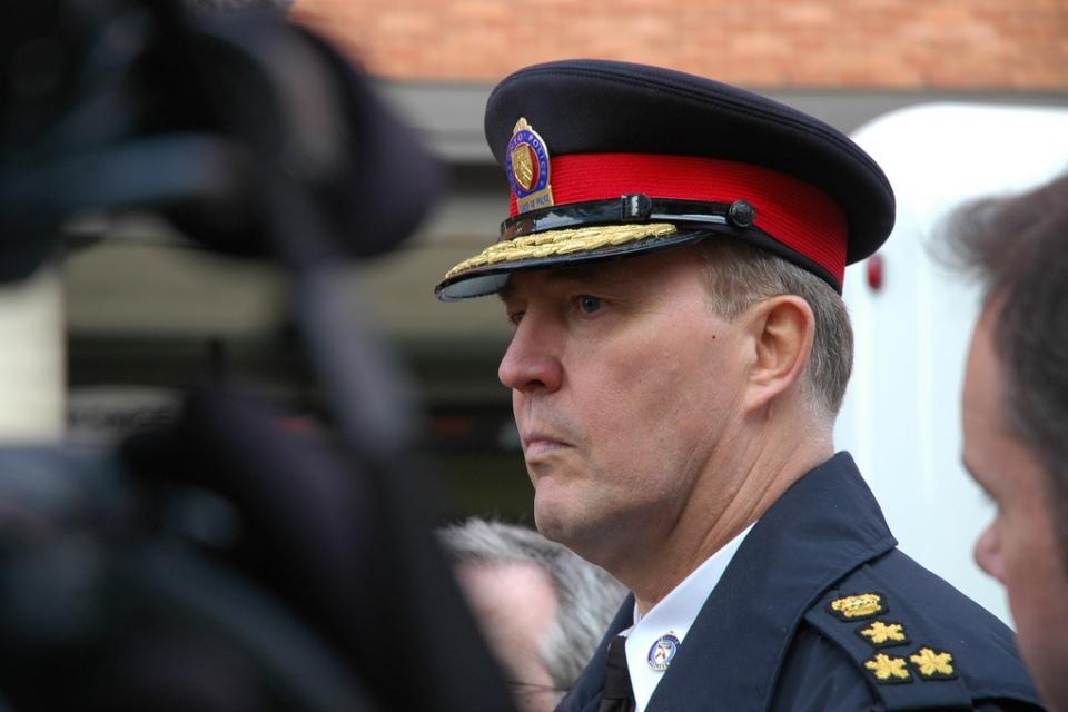 Bill Blair, Chief of the Toronto Police Service