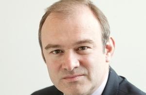 英国能源与气候变化大臣爱德华•戴维(Edward Davey)