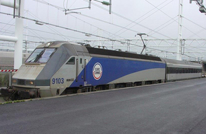 Library image of freight shuttle