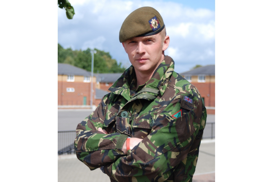 Lance Corporal James Hill (All rights reserved.)