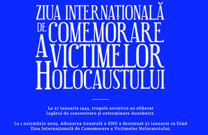 International Holocaust Remembrance Day/ Romania