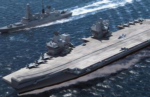 CGI HMS Queen Elizabeth