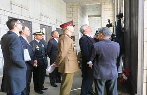 Defence Minister visit