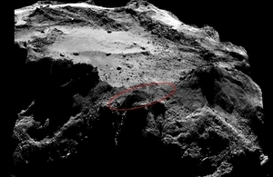 Philae search area.