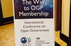 The way to OGP membership