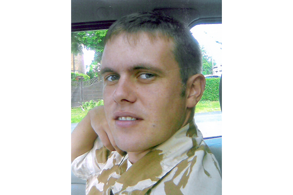 Lance Corporal Richard Brandon (All rights reserved.)