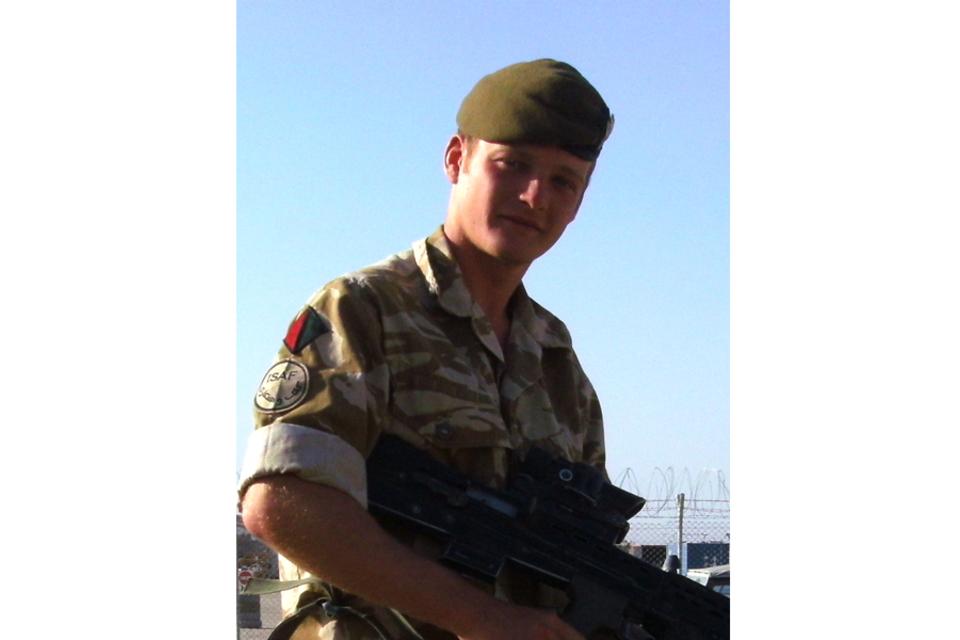 Private Gavin Elliott (All rights reserved.)