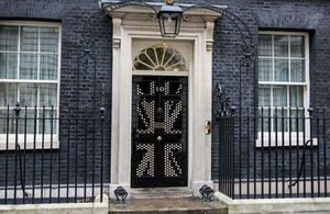 No 10 Door flag