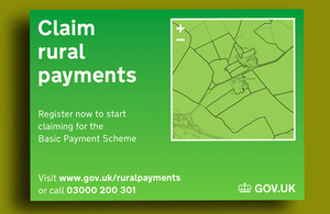 The new Rural Payments online service