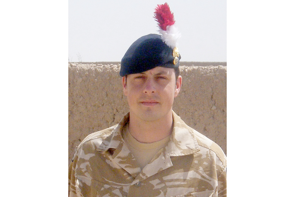 Fusilier Shaun Bush (All rights reserved.)