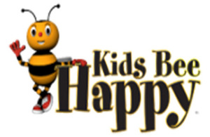 Kids Bee Happy logo.