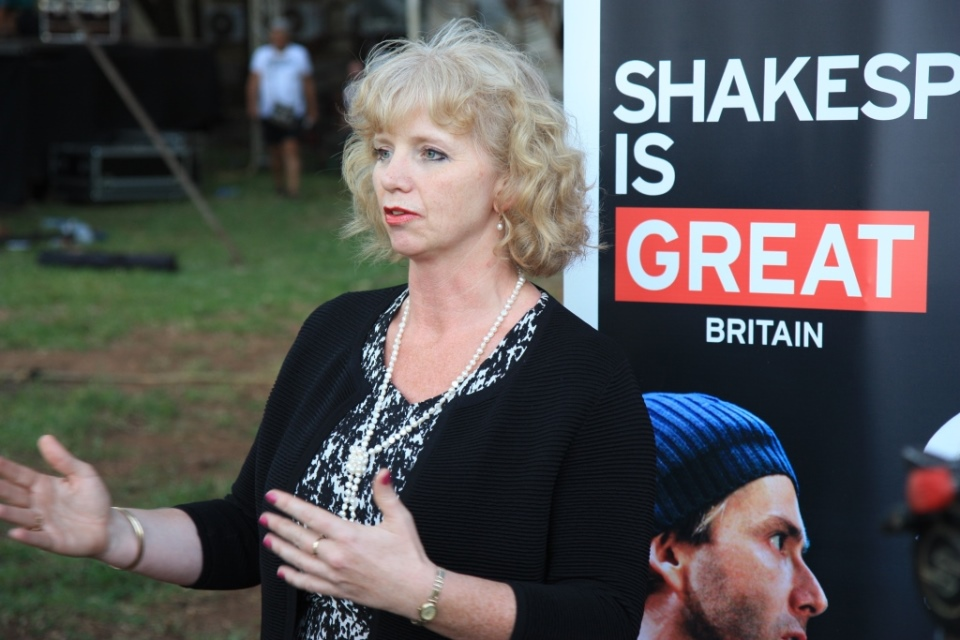 British High Commissioner Alison Blackburne