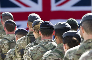 Service personnel encouraged to register to vote  [Picture: Corporal Andrew Morris, Army, Crown Copyright]