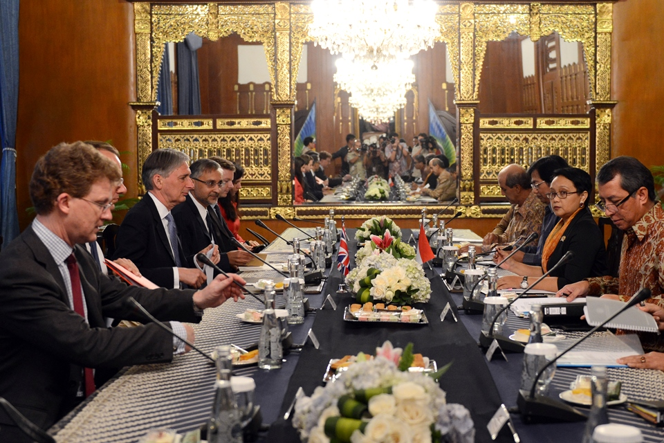 UK-Indonesia bilateral meeting