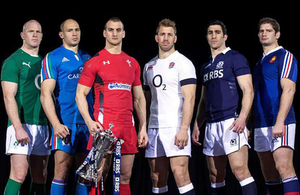 RBS 6 Nations Rugby Cup