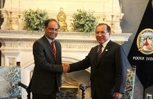 Poder Judicial del Perú y Gobierno Británico exploran acuerdos de cooperación en materia penal