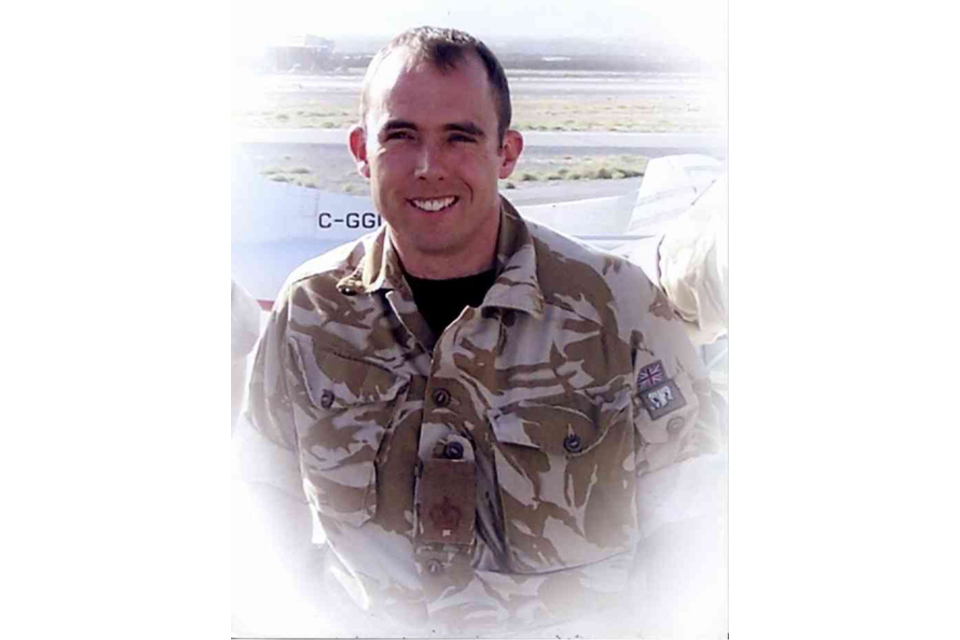 Warrant Officer Class 2 Sean Upton (All rights reserved.)