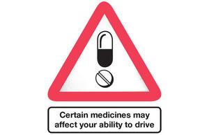 Drug drive sign