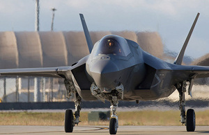 F35 at Elgin Air Force Base, Florida, USA