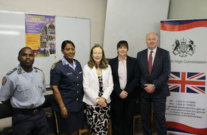 "Opening of ""Community Policing and Gender-Based Violence"" course at the Patrick Iyambo Police College"