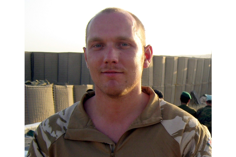 Cpl Horne, 2 RIFLES (All rights reserved.)