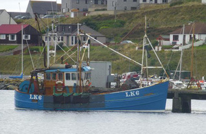 Photograph of fishing vessel Diamond