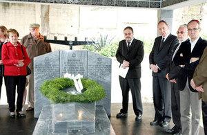 Holocaust Memorial ceremony in La Paz, Bolivia