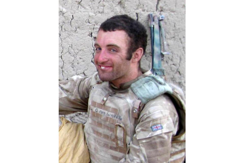 Trooper Christopher Whiteside (All rights reserved.)
