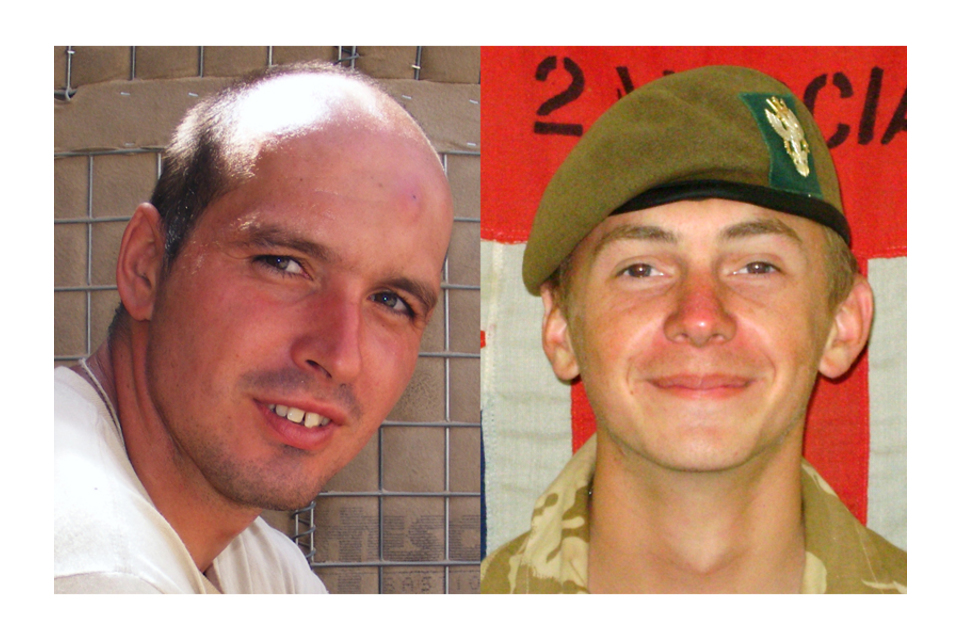 Lance Corporal David Dennis and Private Robert Laws (All rights reserved.)